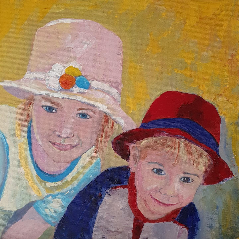 Nicoletta Furlan - I bambini con il cappello