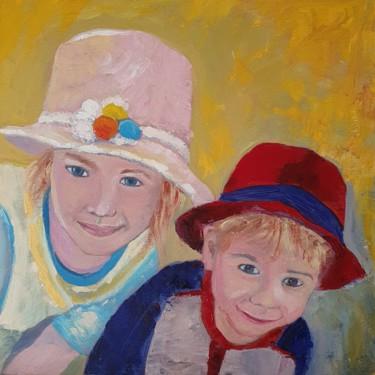 I bambini con il cappello